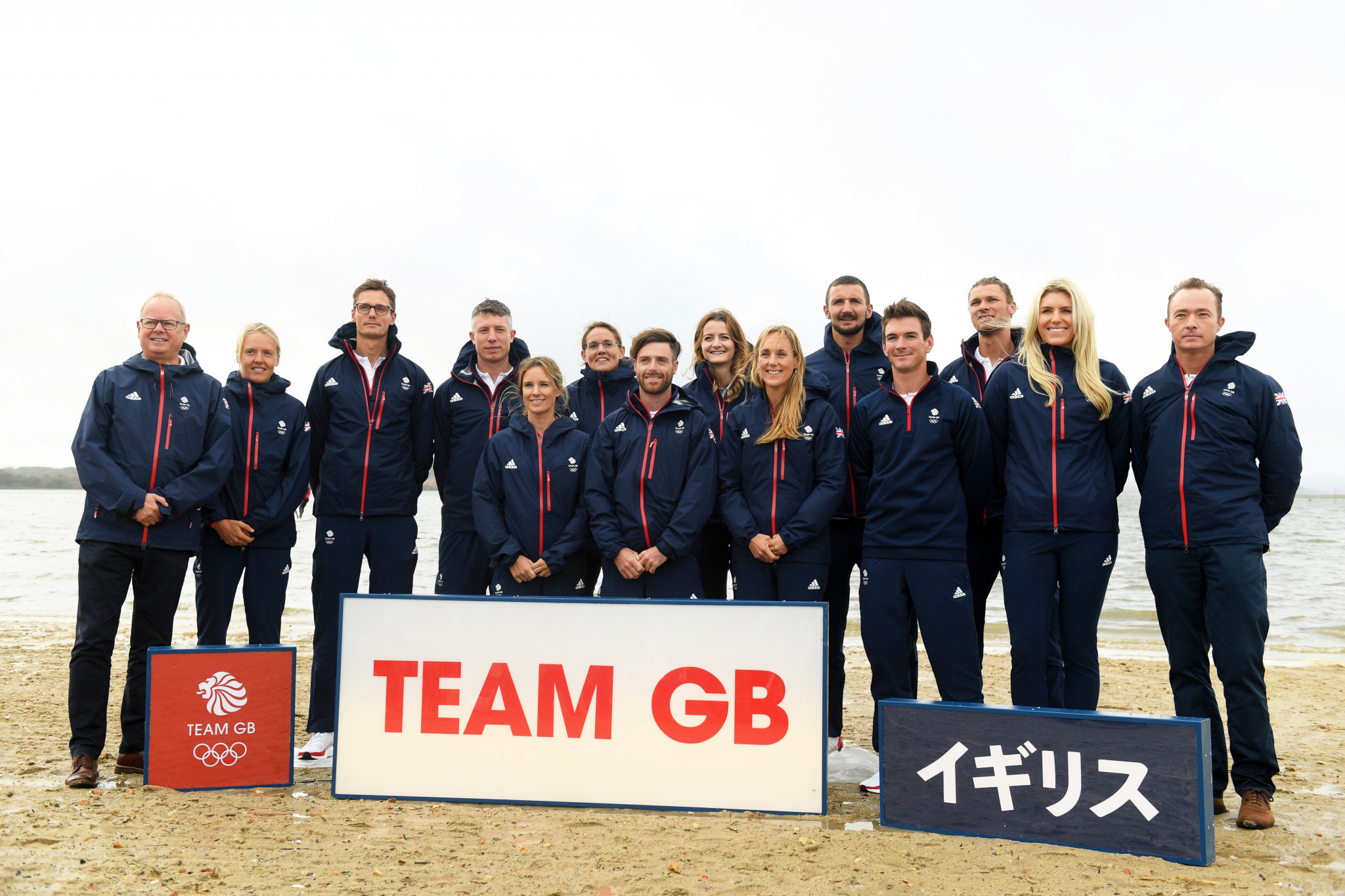 Team GB announced its first 12 sailors for the Tokyo 2020 Games back in October last year ©Getty Images