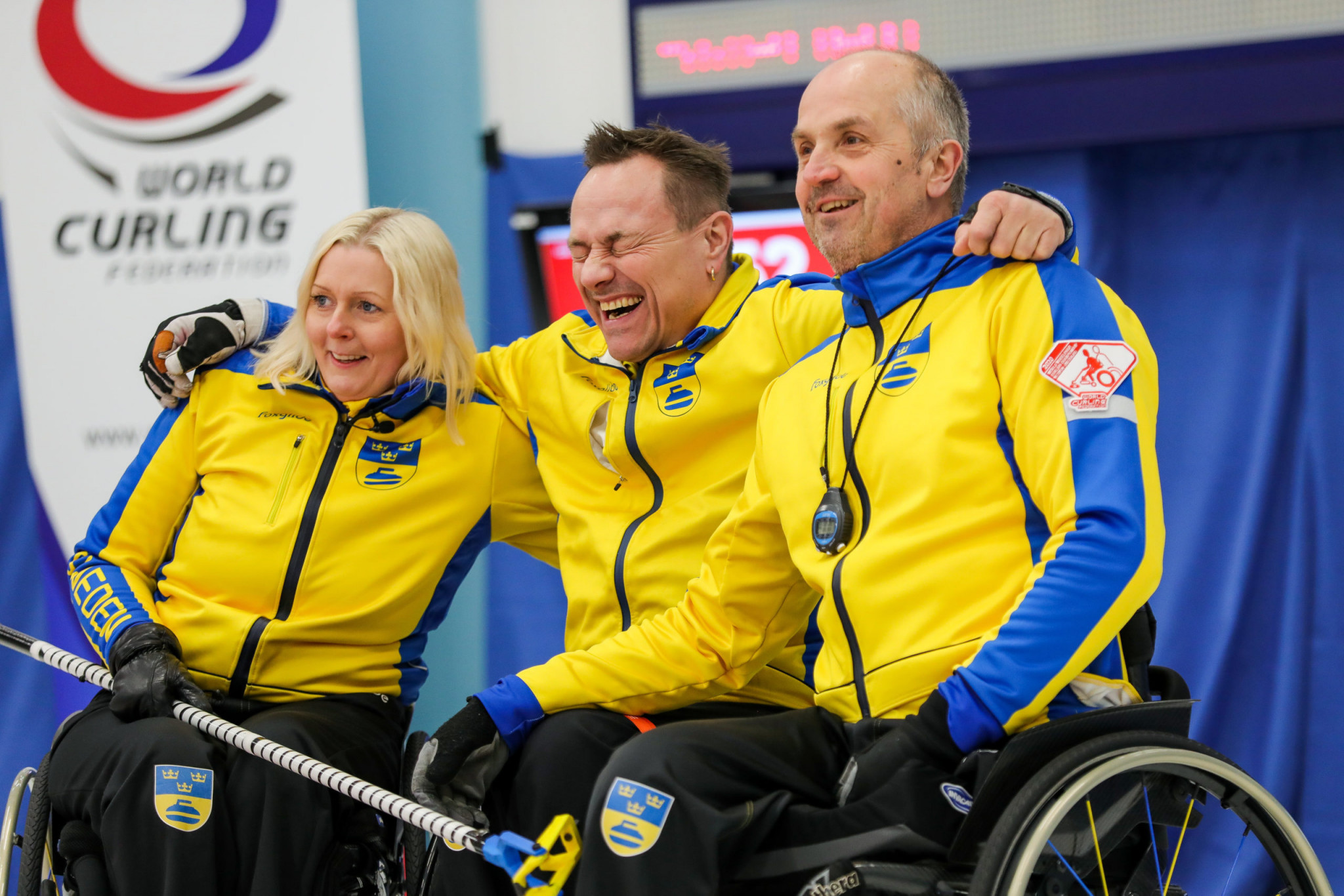 China, Norway and Sweden all unbeaten at World Wheelchair Curling Championships