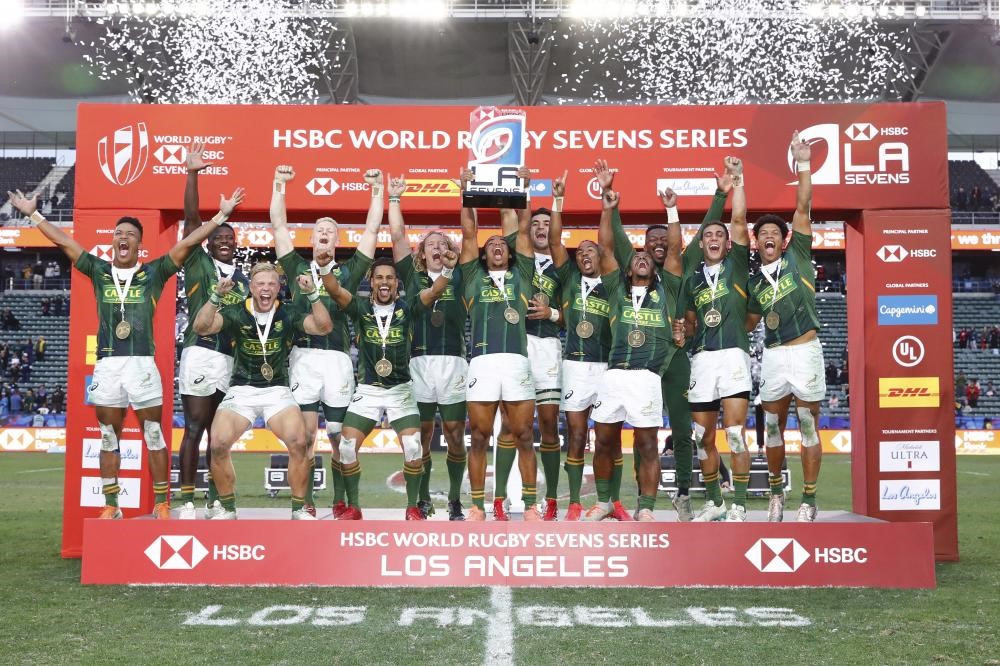 South Africa stage superb comeback to triumph at Los Angeles Sevens