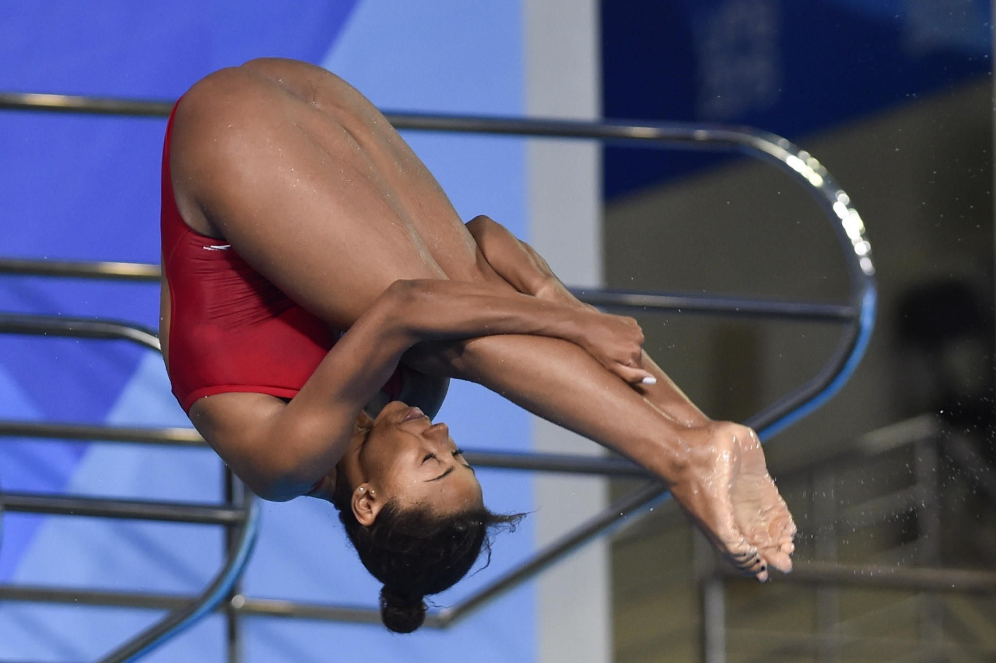 Canada's Abel wins two golds on final day of Diving World Series in Montreal