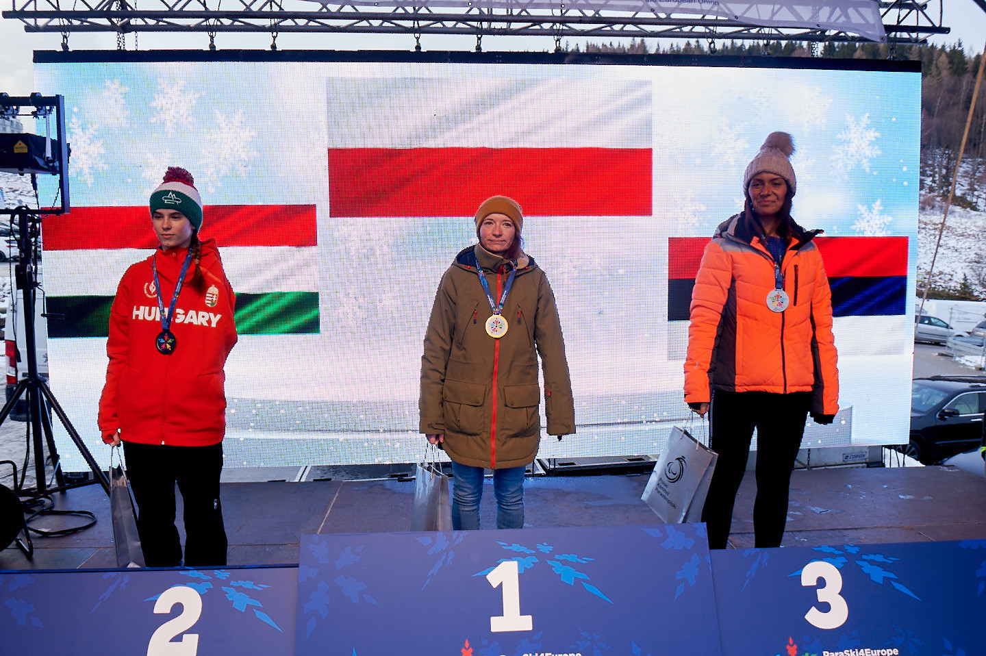 Home snowboarder Kotzian among winners as European Winter Para Sports Event concludes