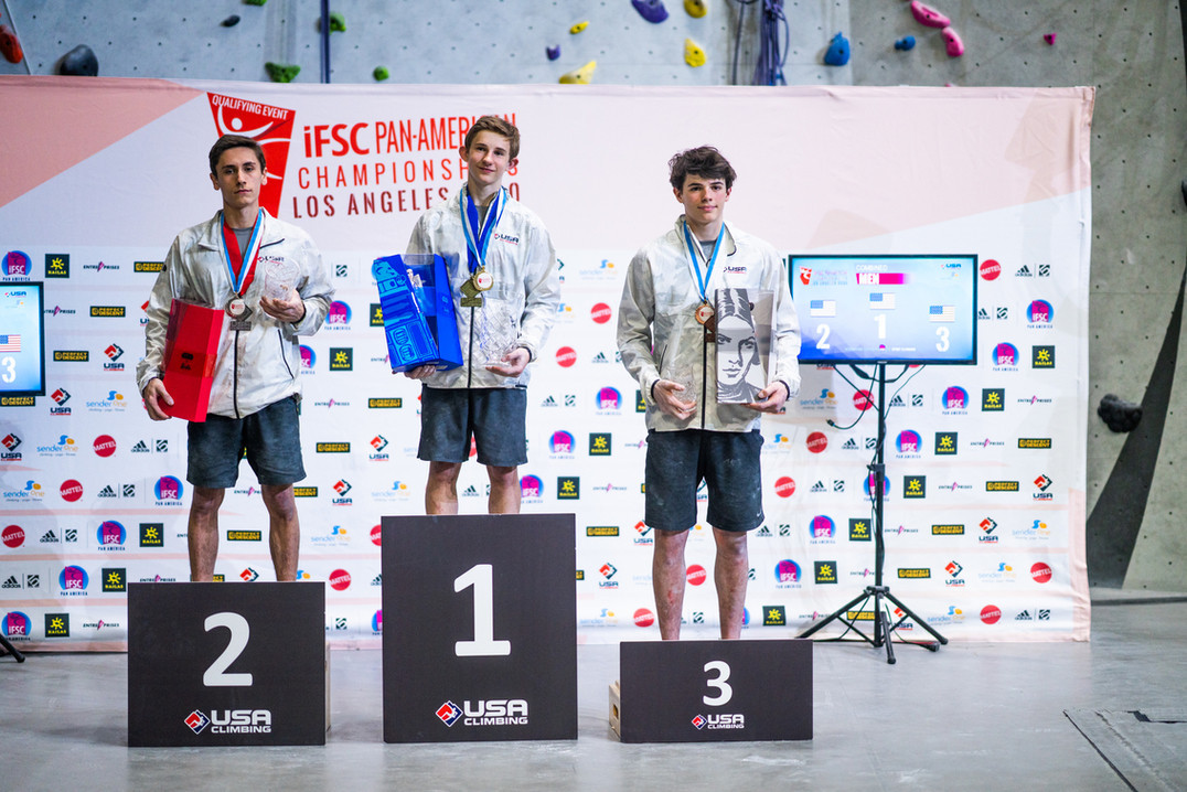 Duffy claims Tokyo 2020 berth as Pan American Sport Climbing Championships conclude