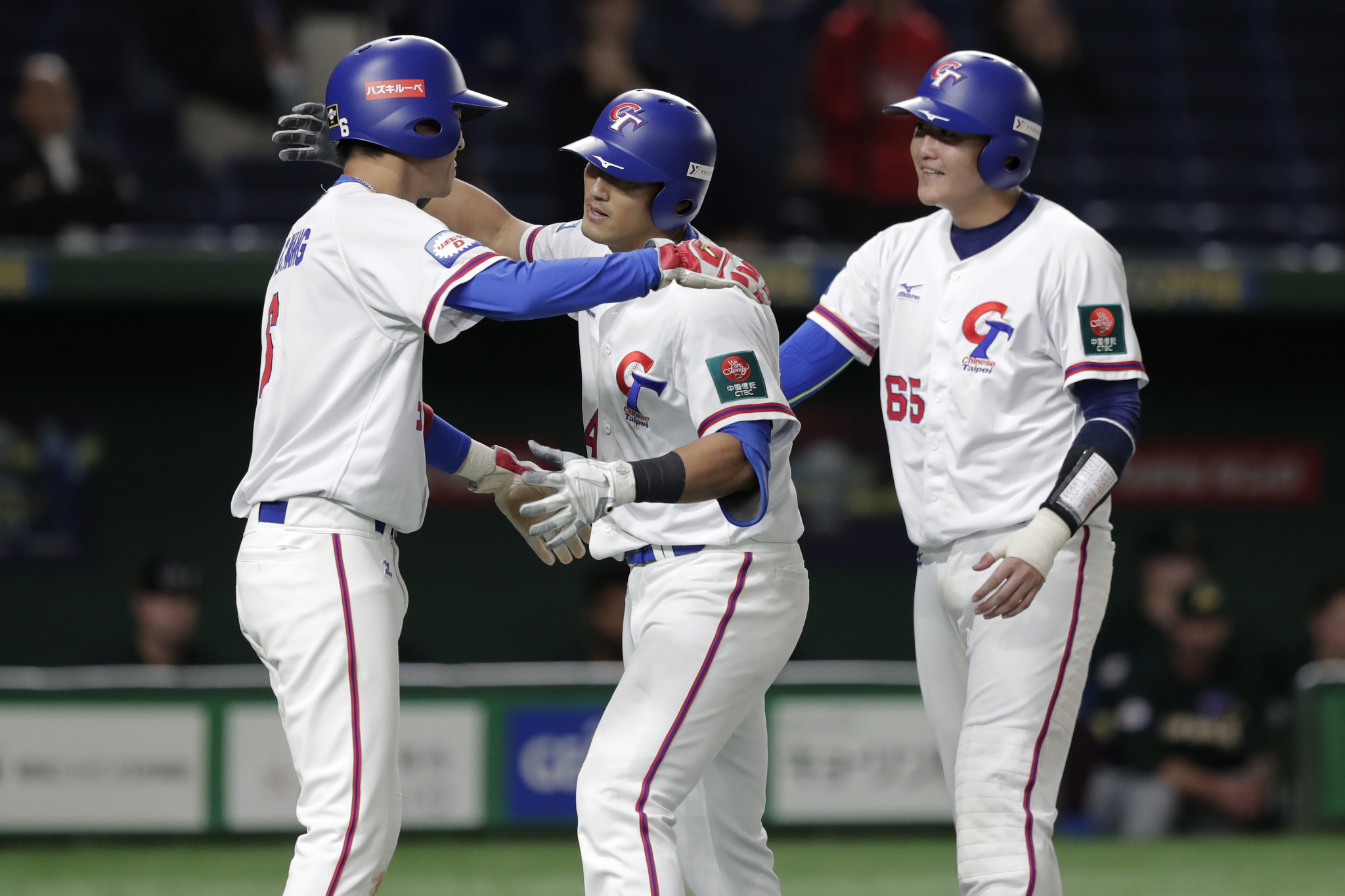 The Chinese Taipei men's and women's baseball teams sit fourth and third respectively in the world rankings ©Getty Images