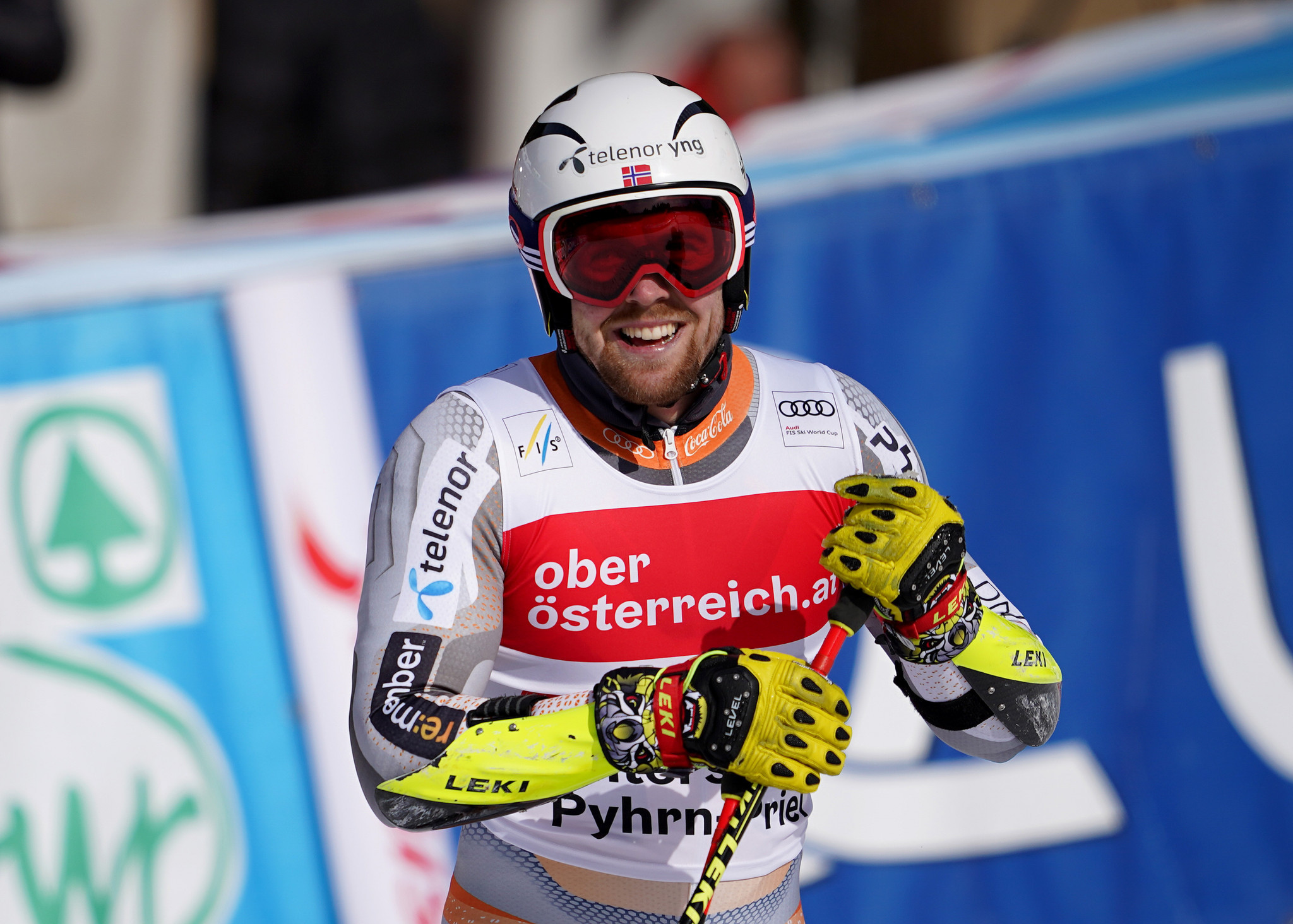 Aleksander Aamodt Kilde finished sixth and lost the overall lead ©Getty Images