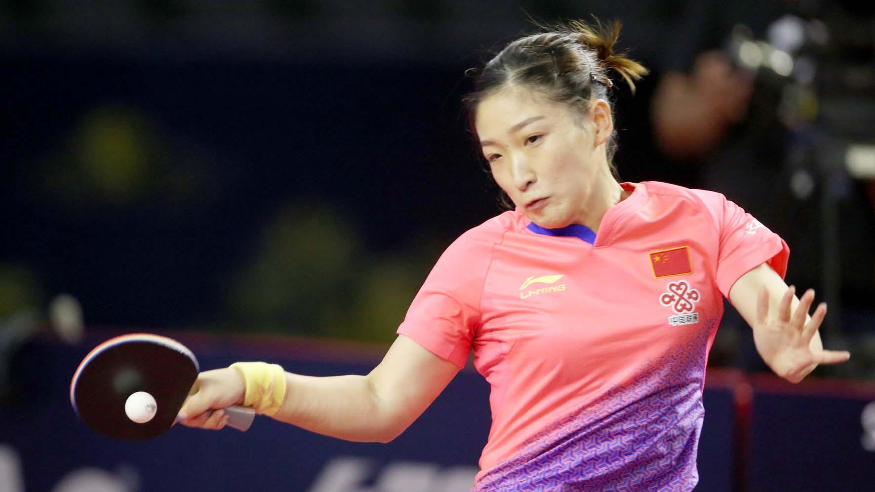 World champion Liu withdraws from ITTF Qatar Open through injury