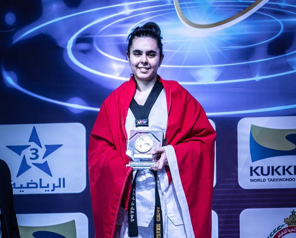 "Moroccan Para-taekwondo fighter describes reaching Tokyo 2020 as a ""dream"""