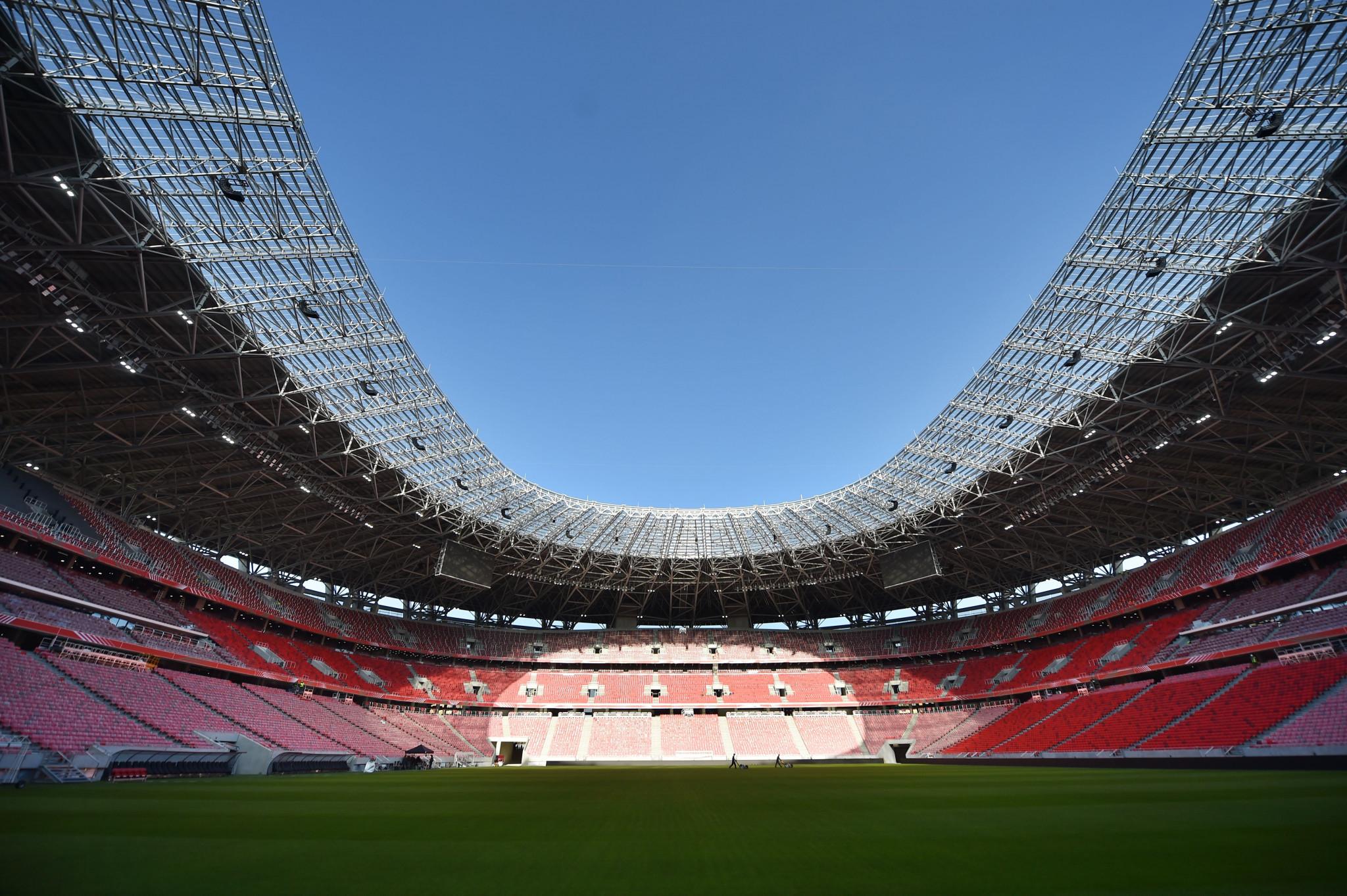 Puskás Aréna will host the 2022 UEFA Europa League final ©Getty Images