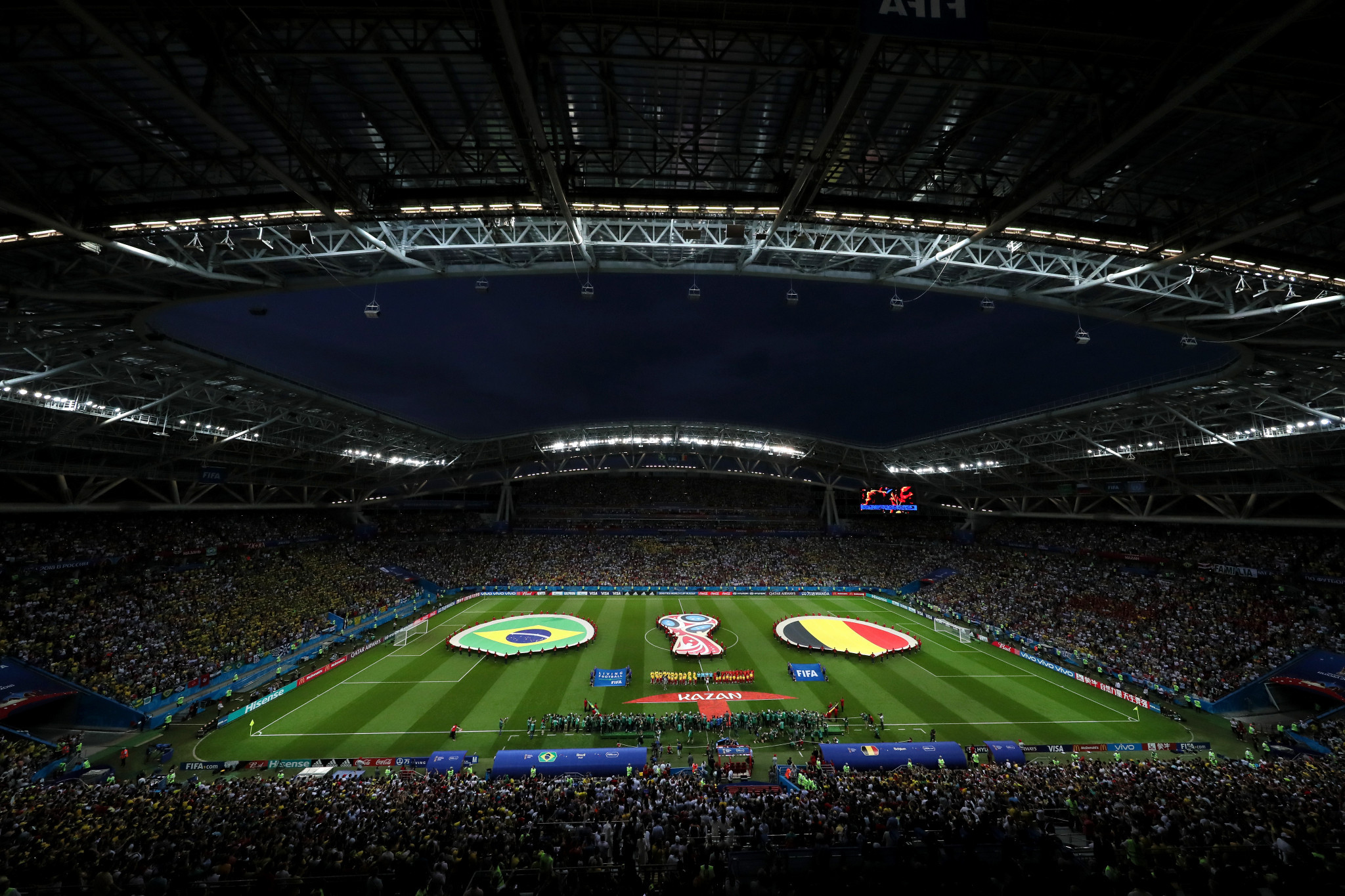 Kazan Arena will stage the 2023 UEFA Super Cup ©Getty Images