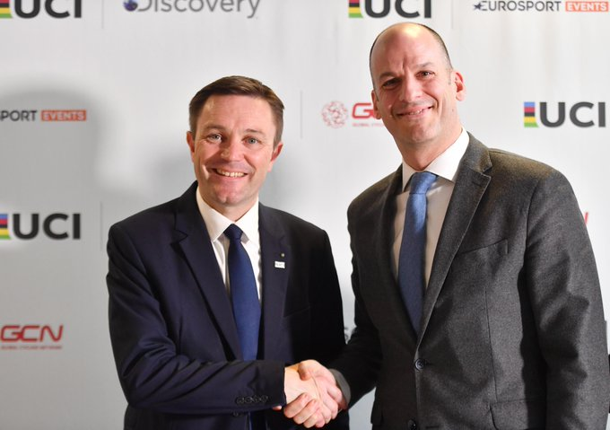 UCI and Discovery partner to launch Track Cycling World League