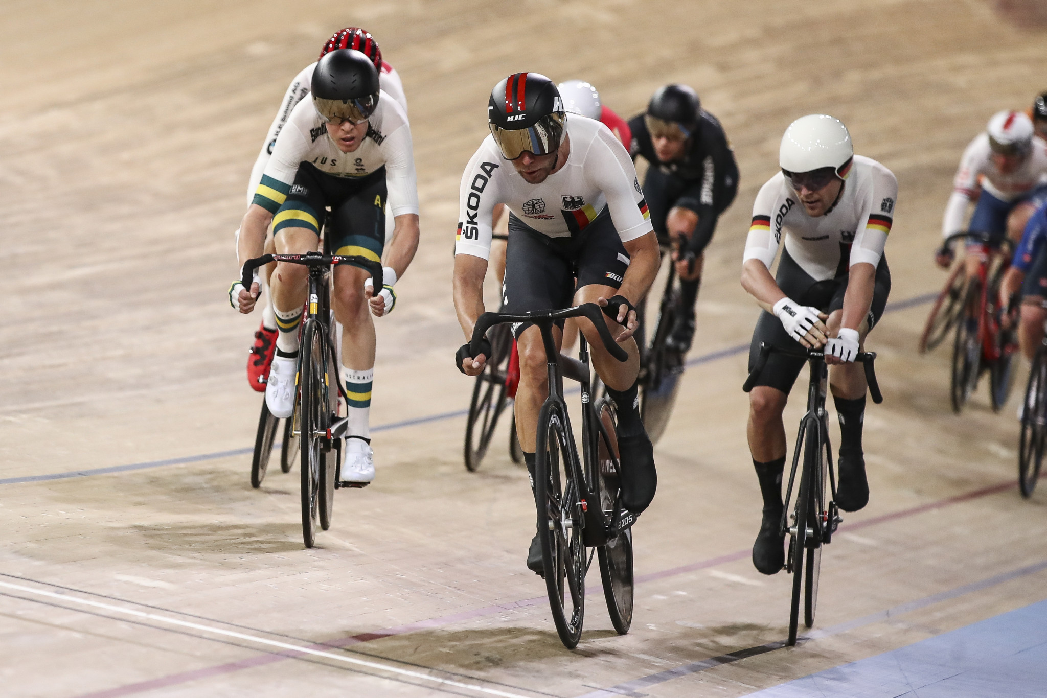 The partnership was announced during the UCI Track Cycling World Championships in Berlin ©Getty Images