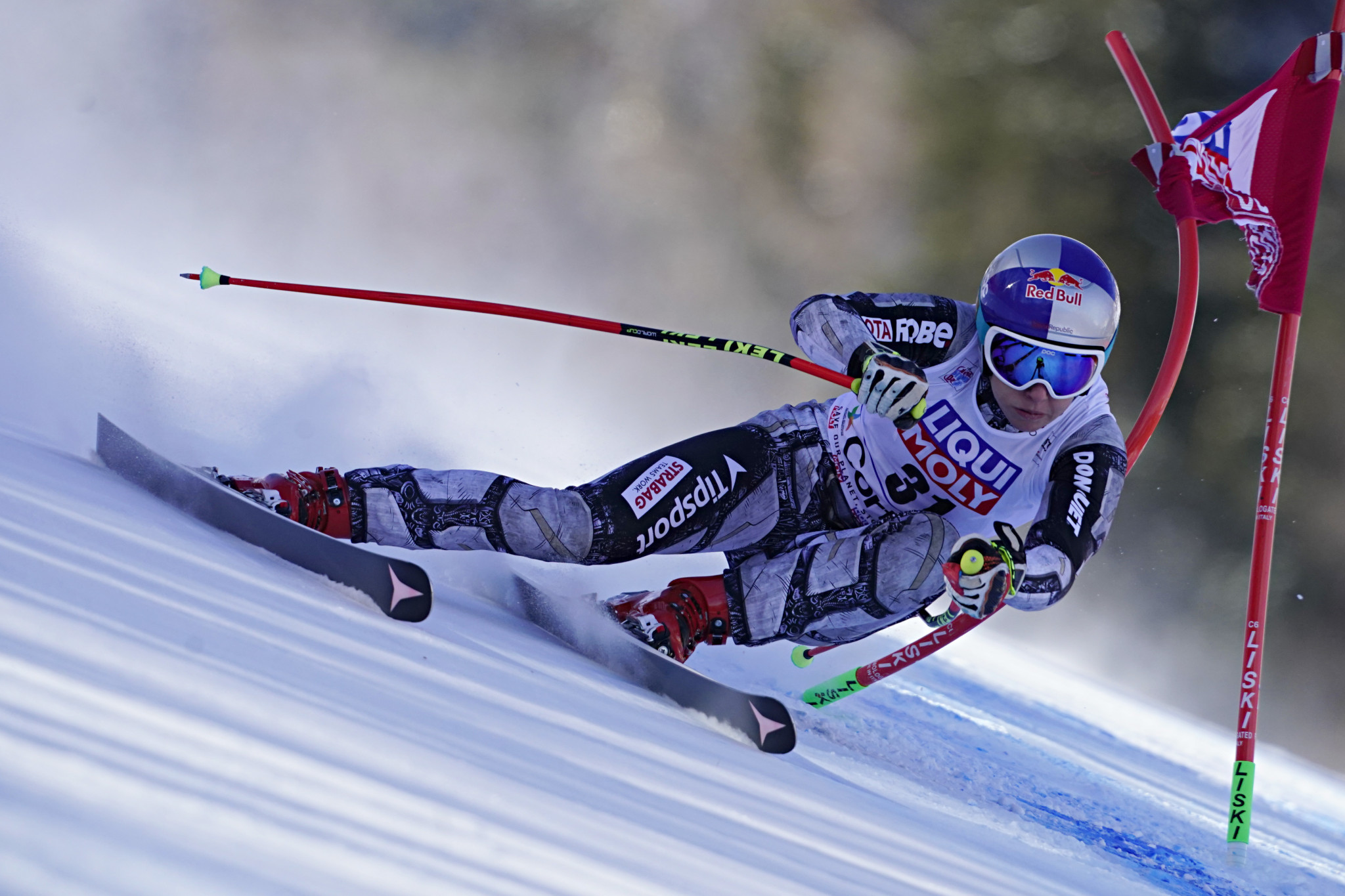 Cortina is the venue for next year's FIS Alpine World Ski Championships ©Getty Images
