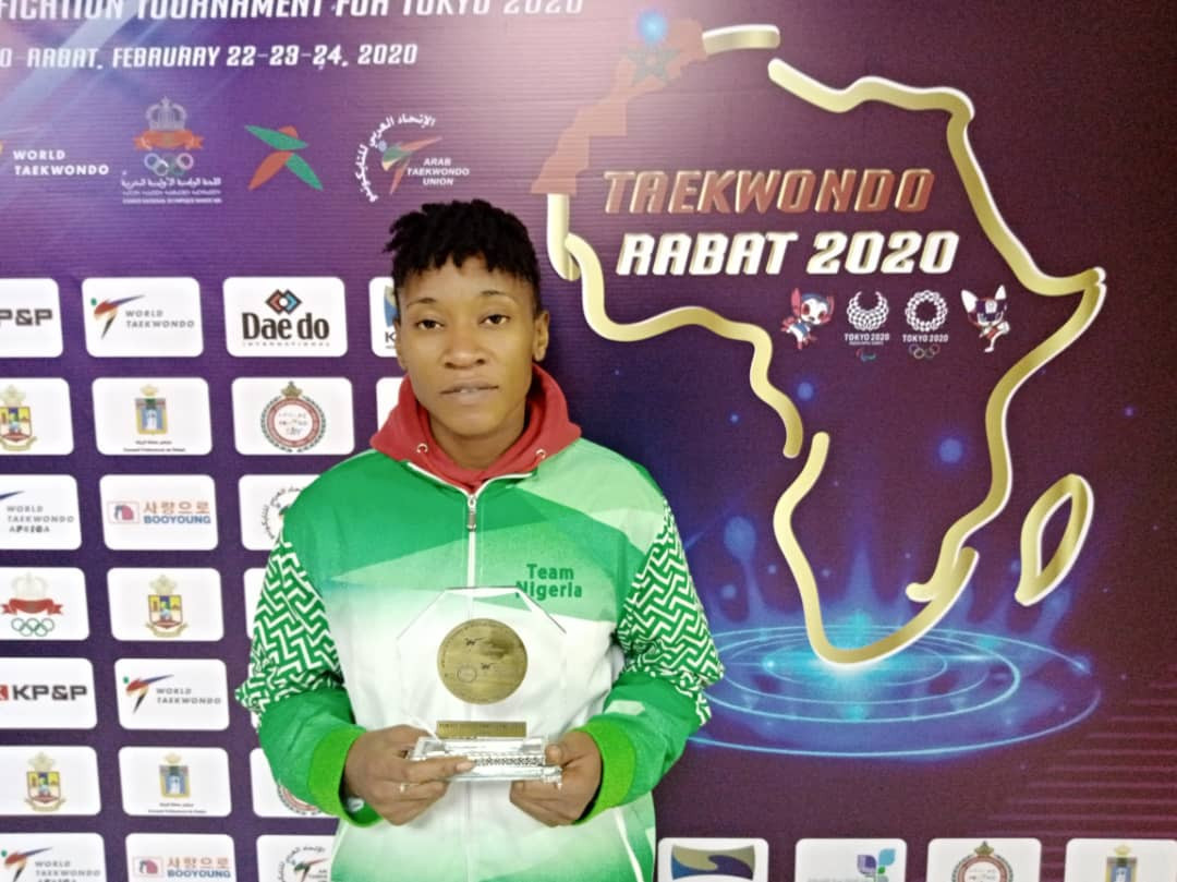Nigeria taekwondo player targets World Championships medal after Tokyo 2020 blow