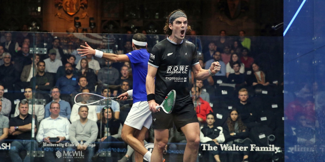 Coll knocks world number one ElShorbagy out of Windy City Open