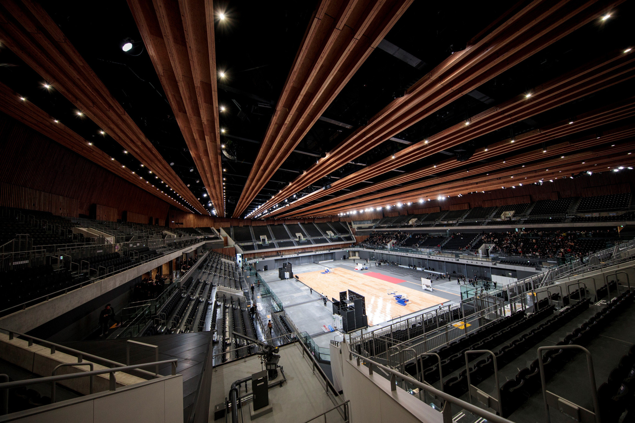 The Ariake Arena would host wheelchair basketball competition at Tokyo 2020 ©Getty Images