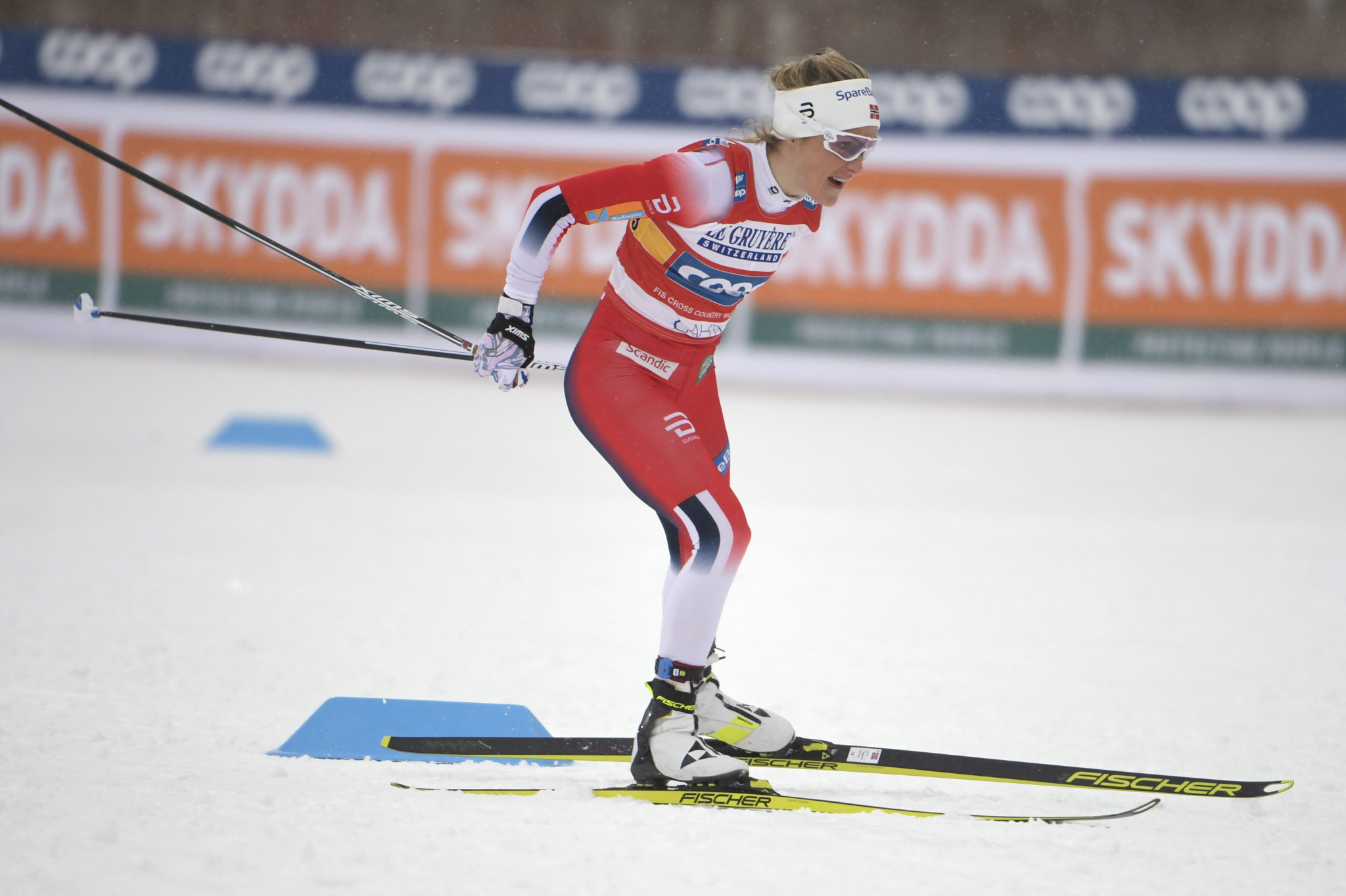 Johaug poised for overall title at FIS Cross-Country World Cup in Konnerud