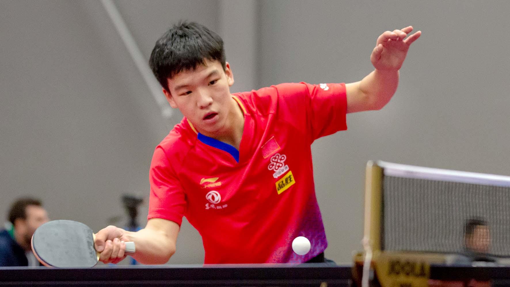 World junior champion through as preliminary matches begin ITTF Qatar Open
