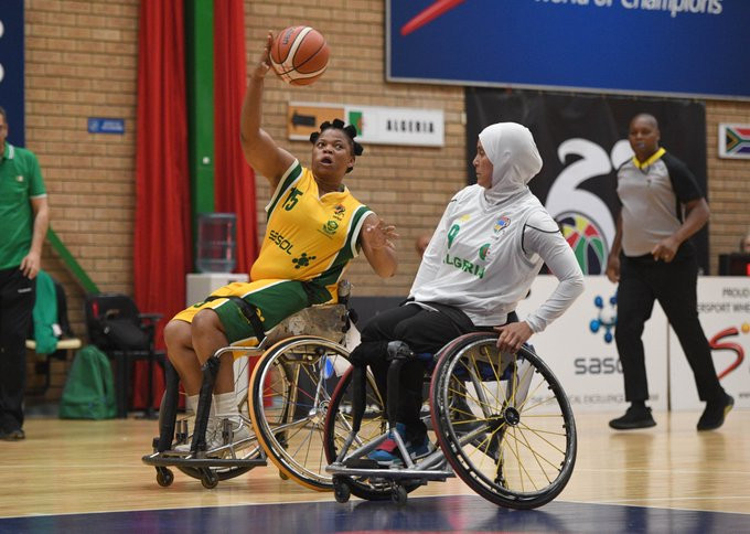 Algeria defeated South Africa for a third time at the IWBF Afro Paralympic Qualifiers ©IPC