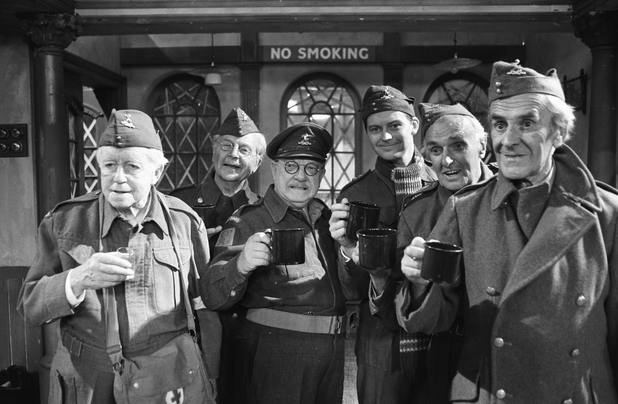 """As Dad's Army taught us: """"Don't panic! Don't panic!"""" ©Getty Images"""