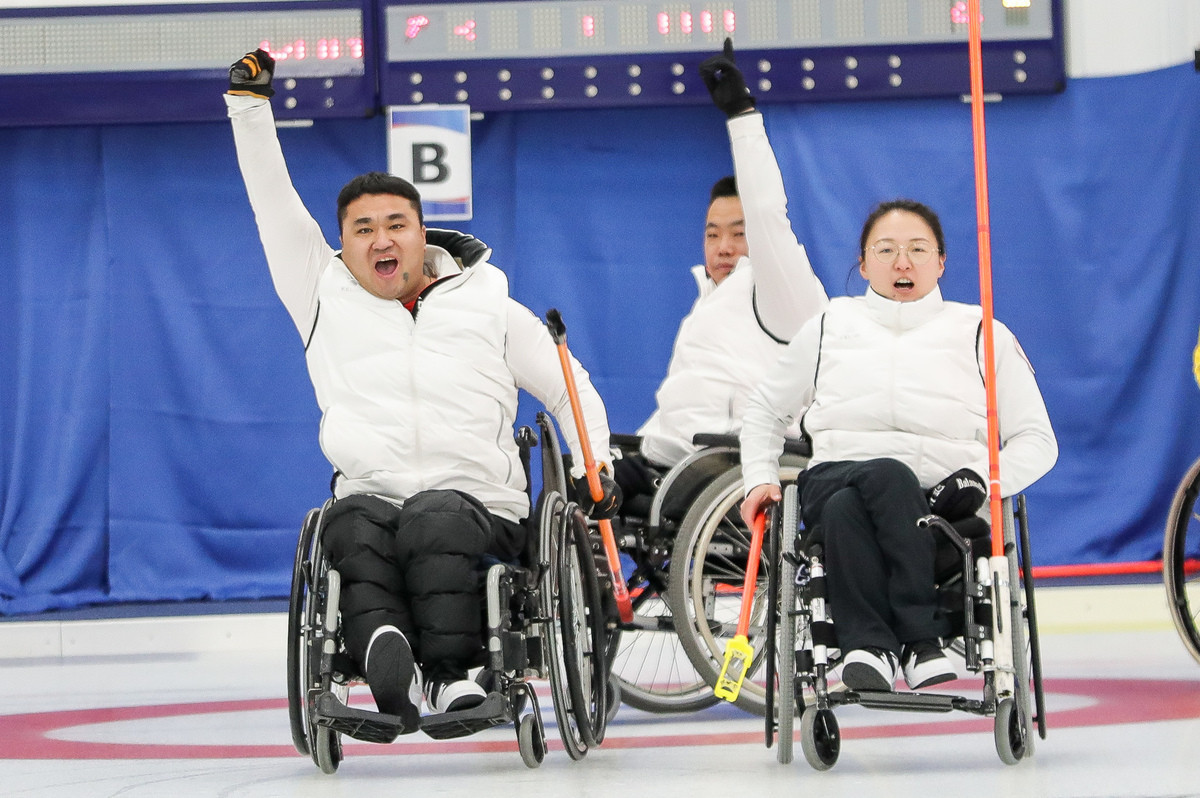Holders China better Sweden at World Wheelchair Curling Championship