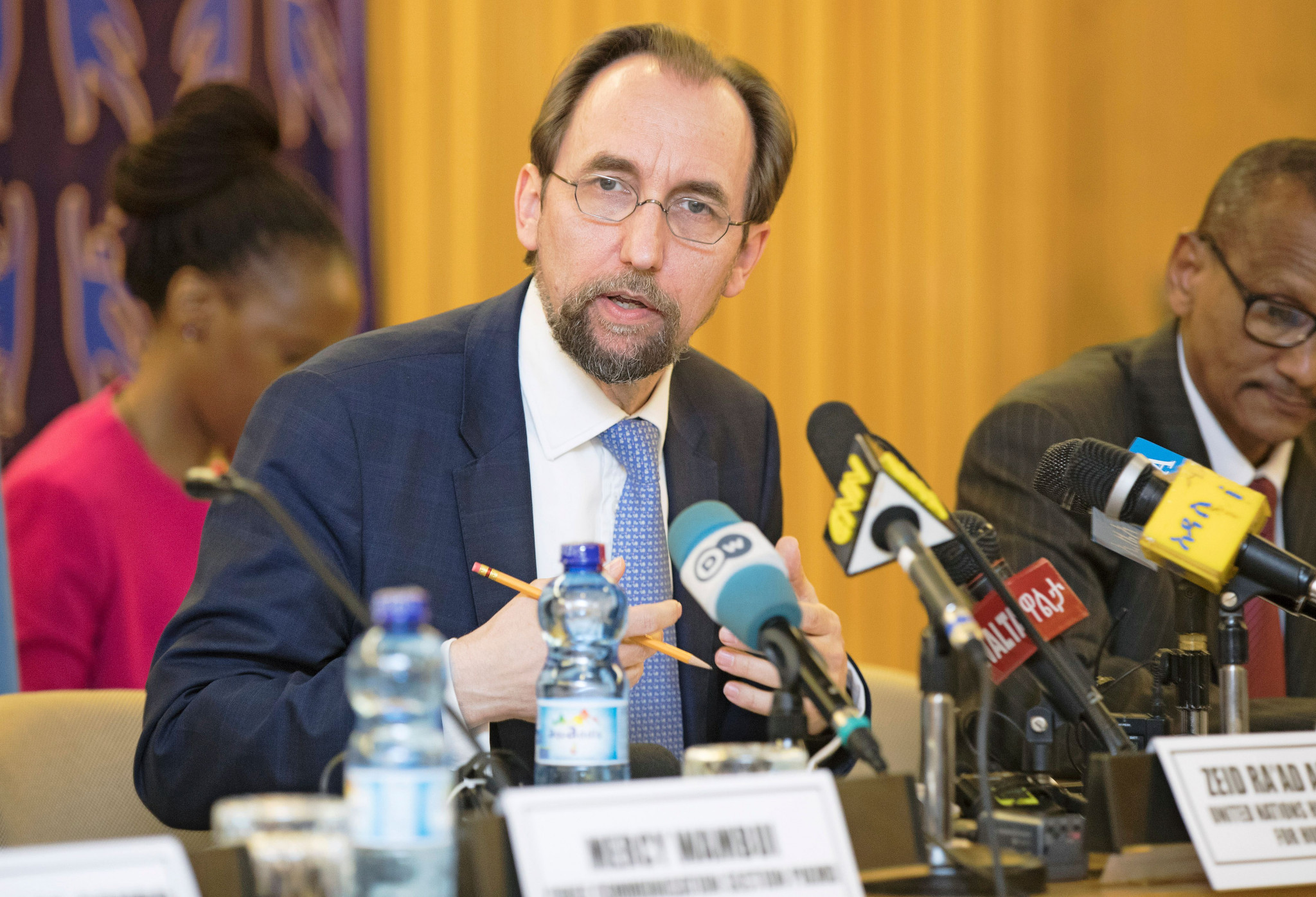 Former United Nations High Commissioner for Human Rights Prince Zeid Ra'ad Al Hussein is set to chair the new Committee proposed by the International Olympic Committee ©Getty Images