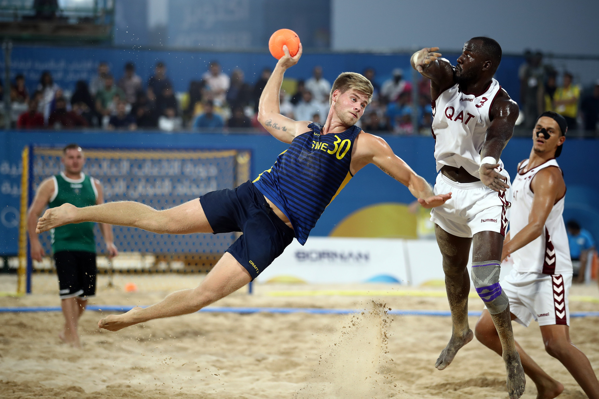 Beach handball has been proposed for inclusion at Paris 2024 ©Getty Images