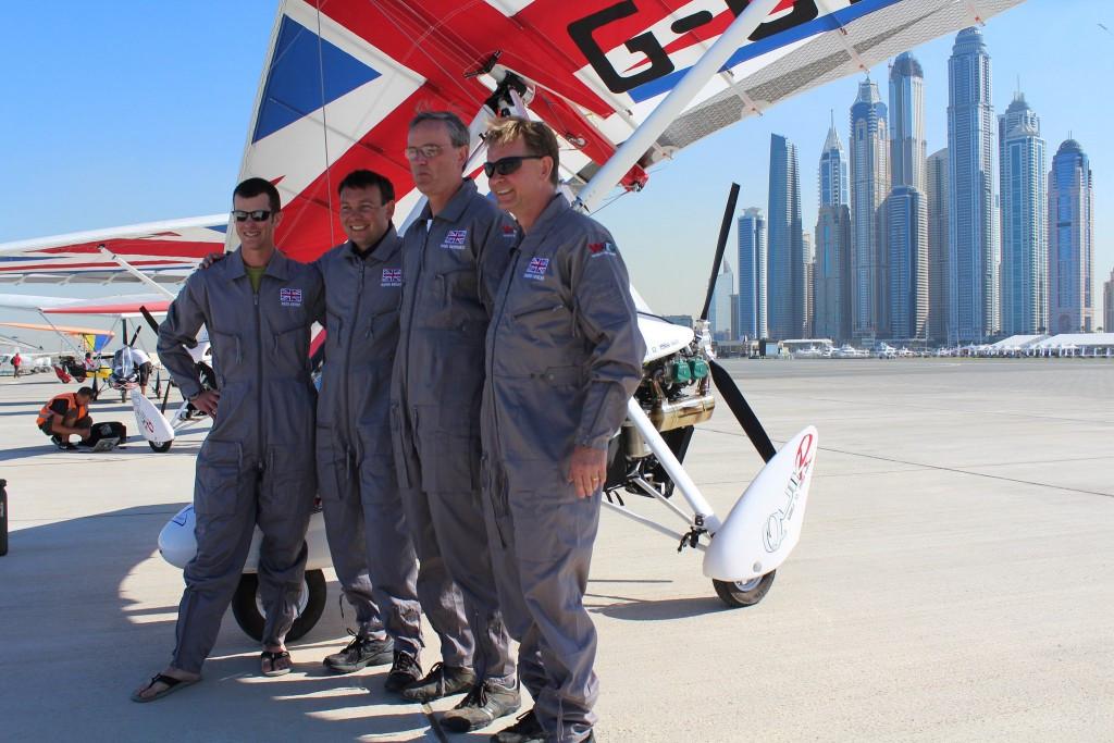 Britain sweep microlighting podium at World Air Games