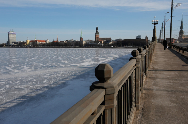 Old Town and the Daugava River in Riga, Latvia. © Dean Mouhtaropoulos/Getty Images