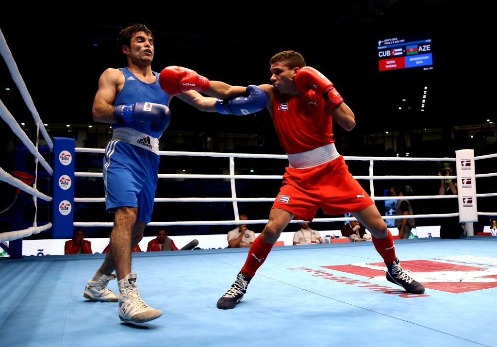 AIBA reveal first 60 qualifiers for Rio 2016 boxing tournaments