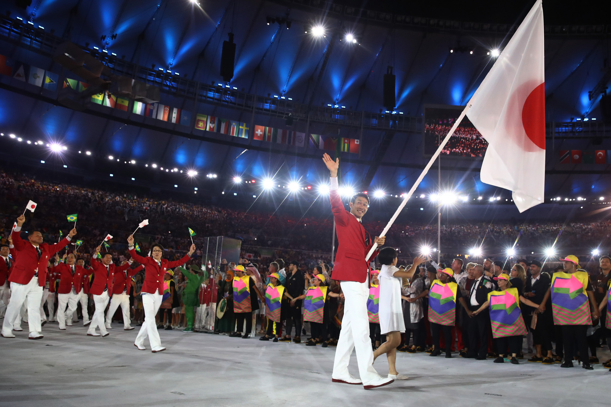 National Olympic Committees will have an option to have a female and male flagbearer ©Getty Images