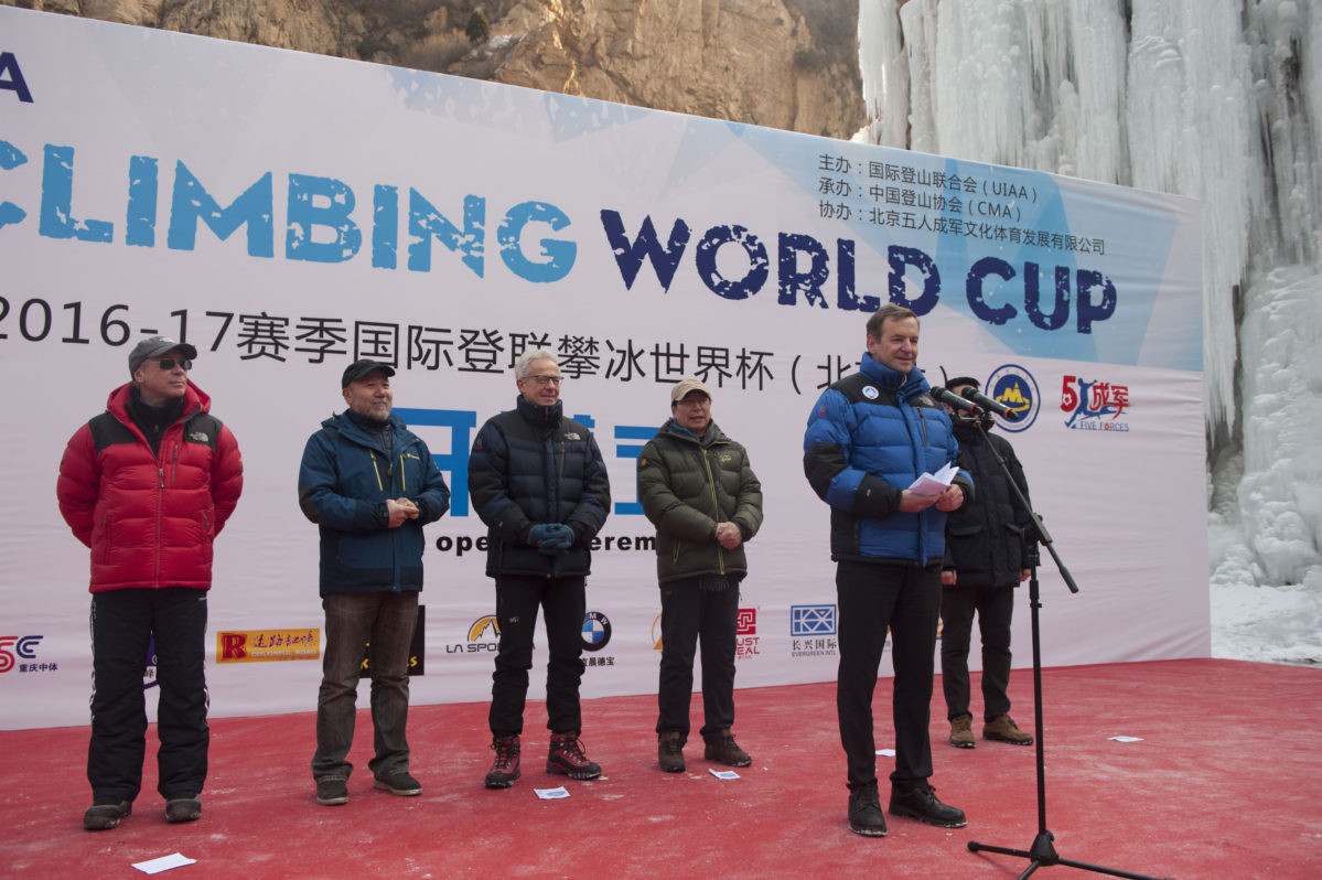 International Climbing and Mountaineering Federation begin search for new President