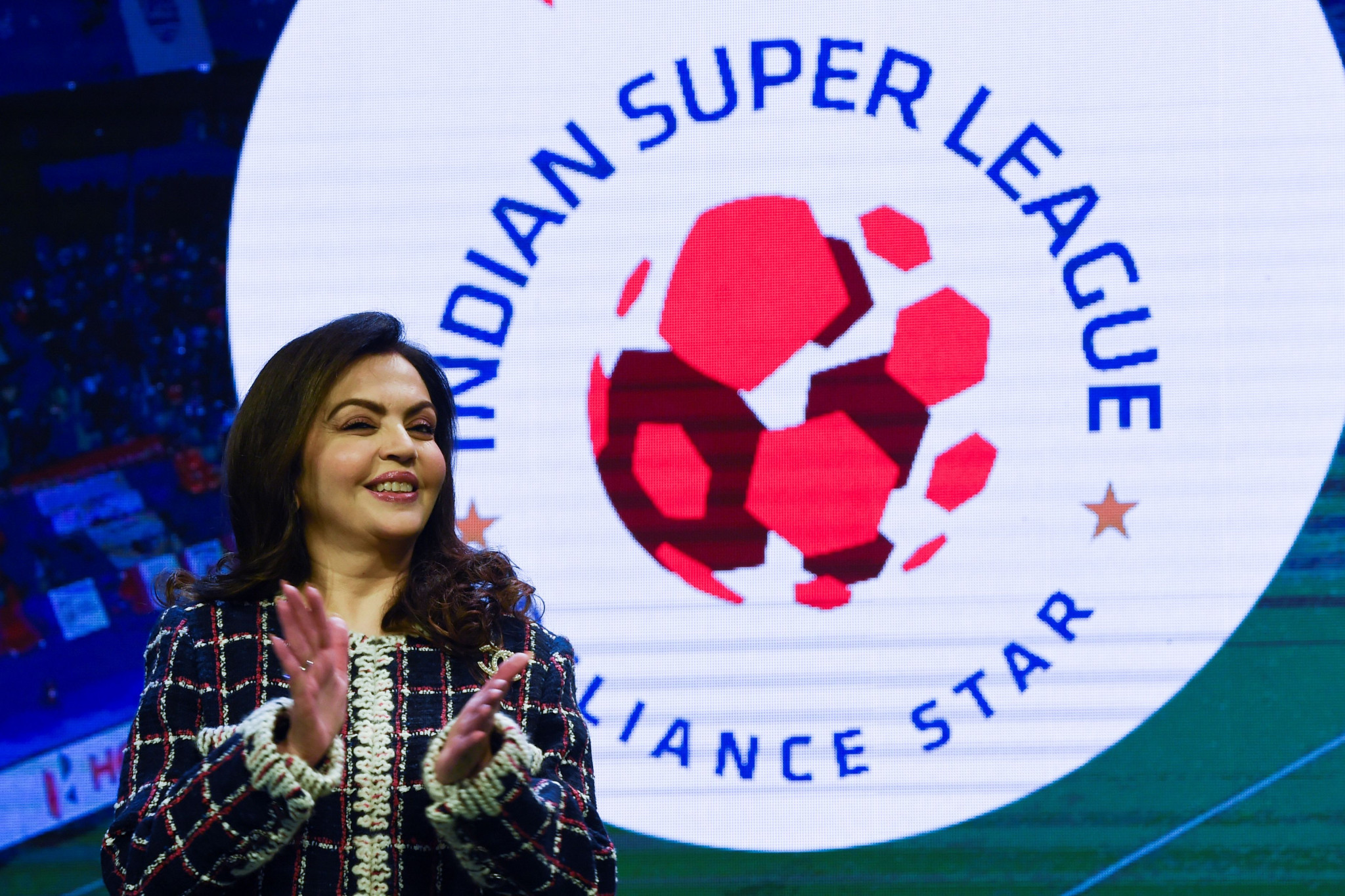 Nita Ambani is hopeful India can one day host the Olympic Games ©Getty Images