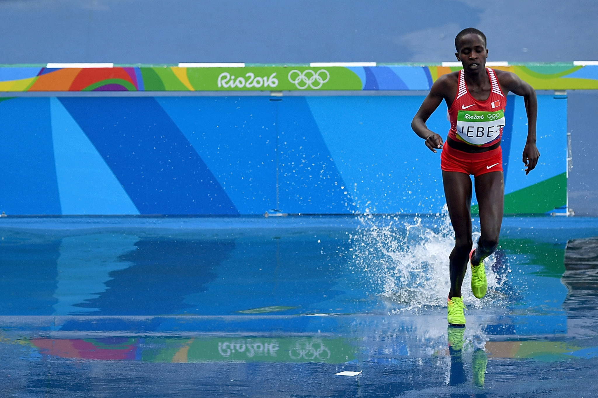 Bahrain's Ruth Jebet was handed a four-year doping ban yesterday ©Getty Images