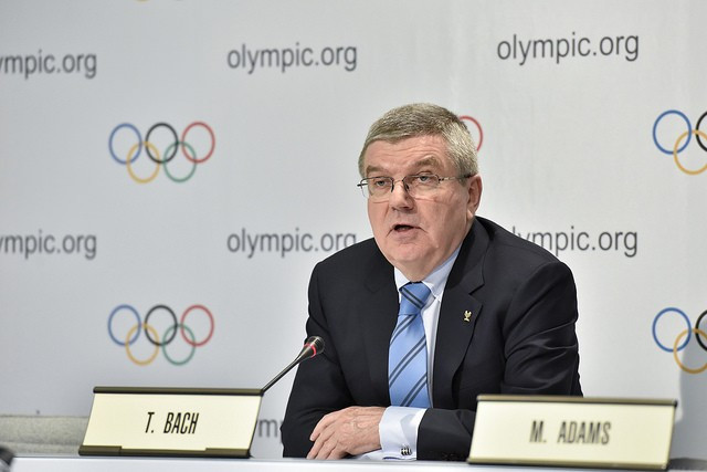 IAAF and FIFA scandals not the same, claims IOC President Bach