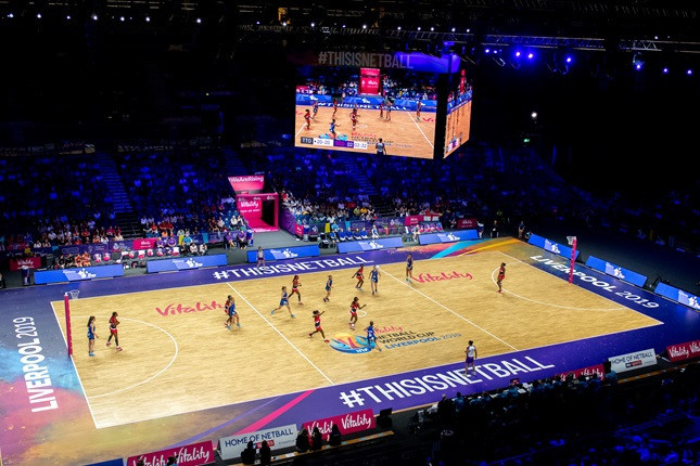 Last year's Netball World Cup delivered an £8.18 million economic boost to host city Liverpool's economy ©Emma Simpson/UK Sport