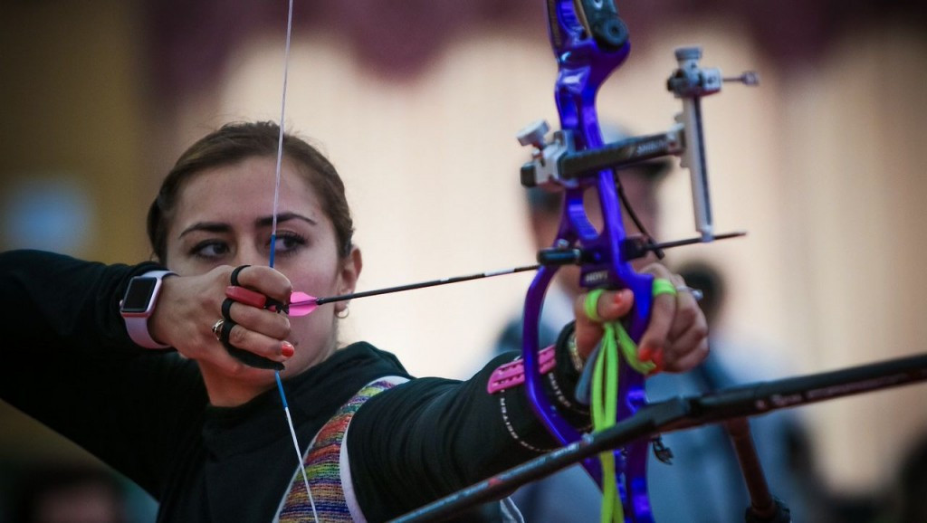 Mexican stuns strong South Korean challenge to win women's recurve title at Indoor Archery World Cup