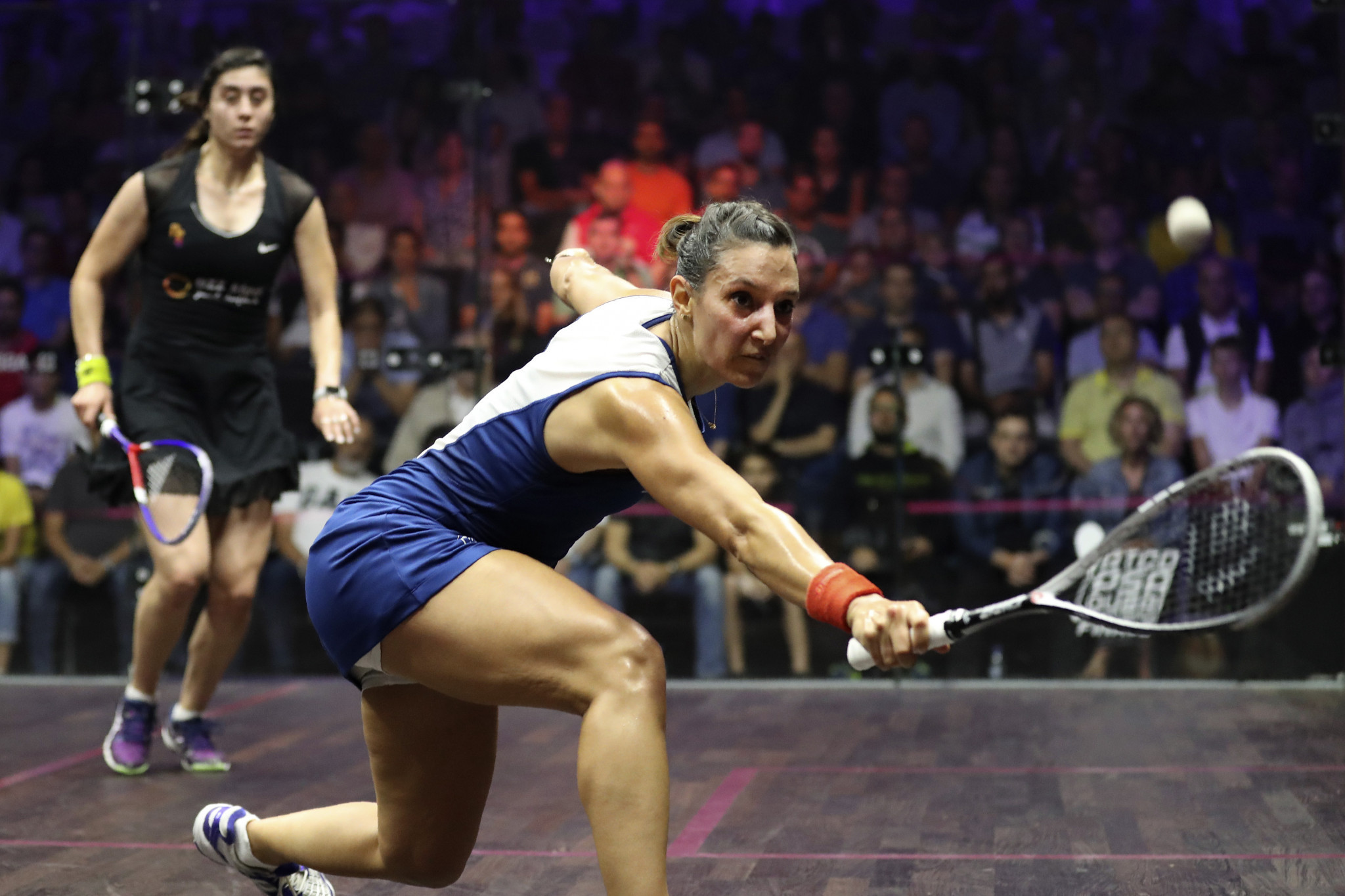 France's Camille Serme is the only non-Egyptian in the women's top five ©Getty Images