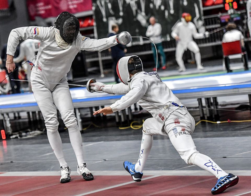 Gonzalez to face top seed Bida at FIE Épée Grand Prix in Budapest