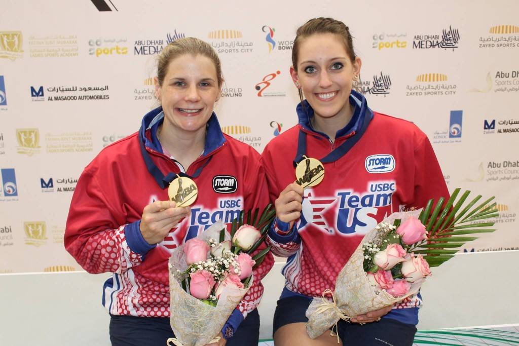 McEwan and Kulick hold off South Korean challenge to clinch World Bowling Women's Championship doubles crown