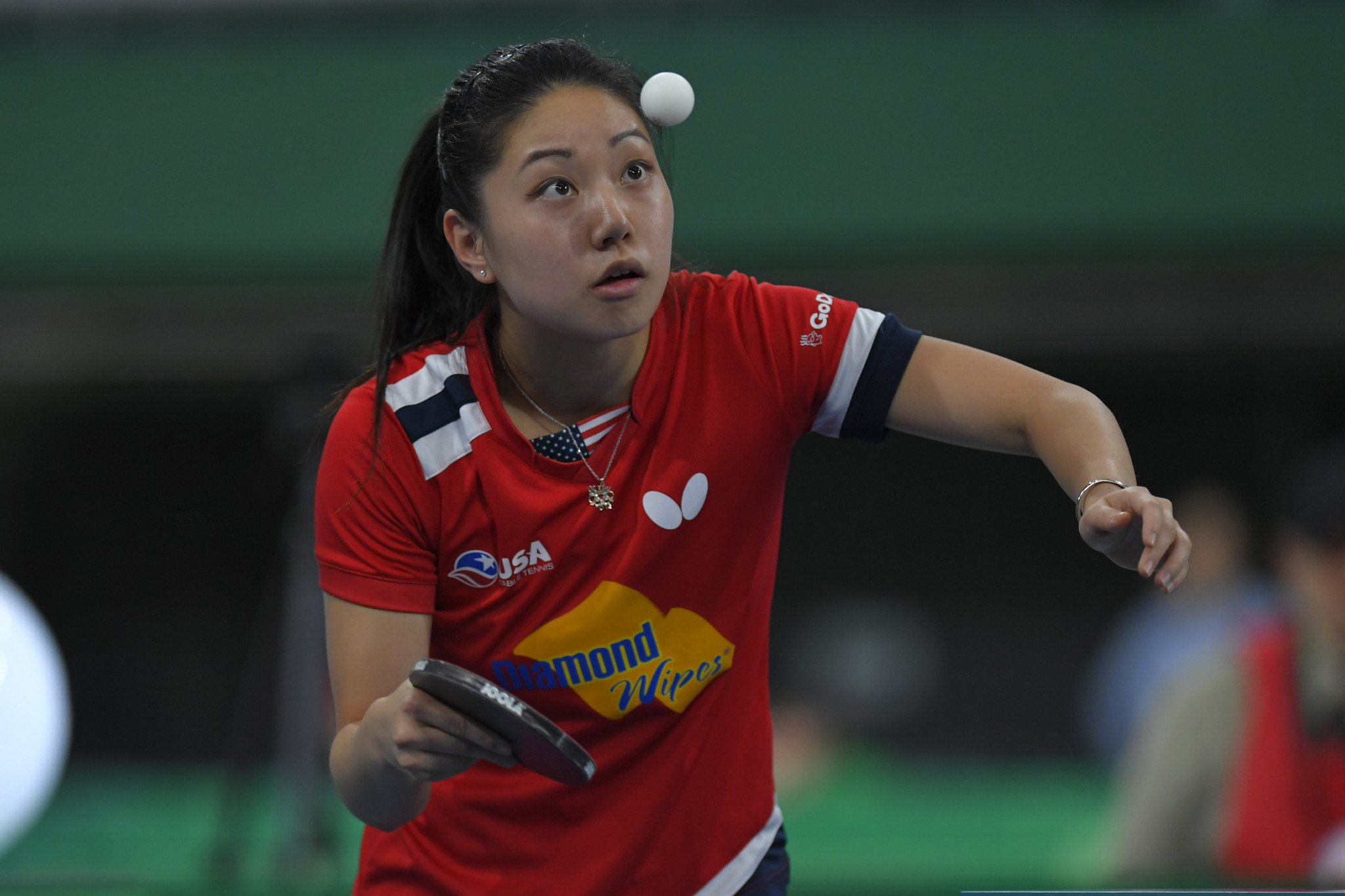 Six-time American champion Lily Zhang is playing in the ITTF North American Singles and Mixed Doubles Olympic Qualification Tournament ©Getty Images