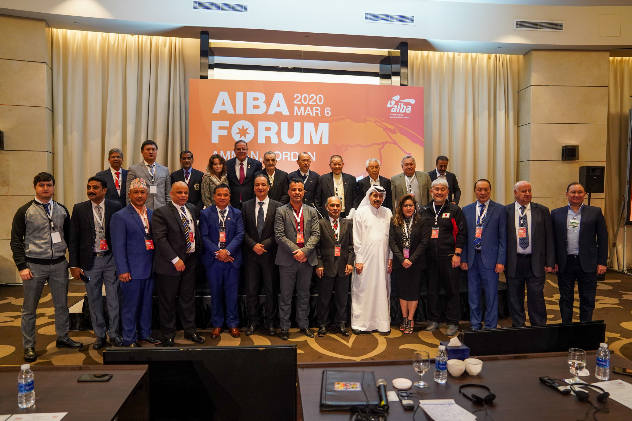AIBA in Amman for Asian Continental Forum
