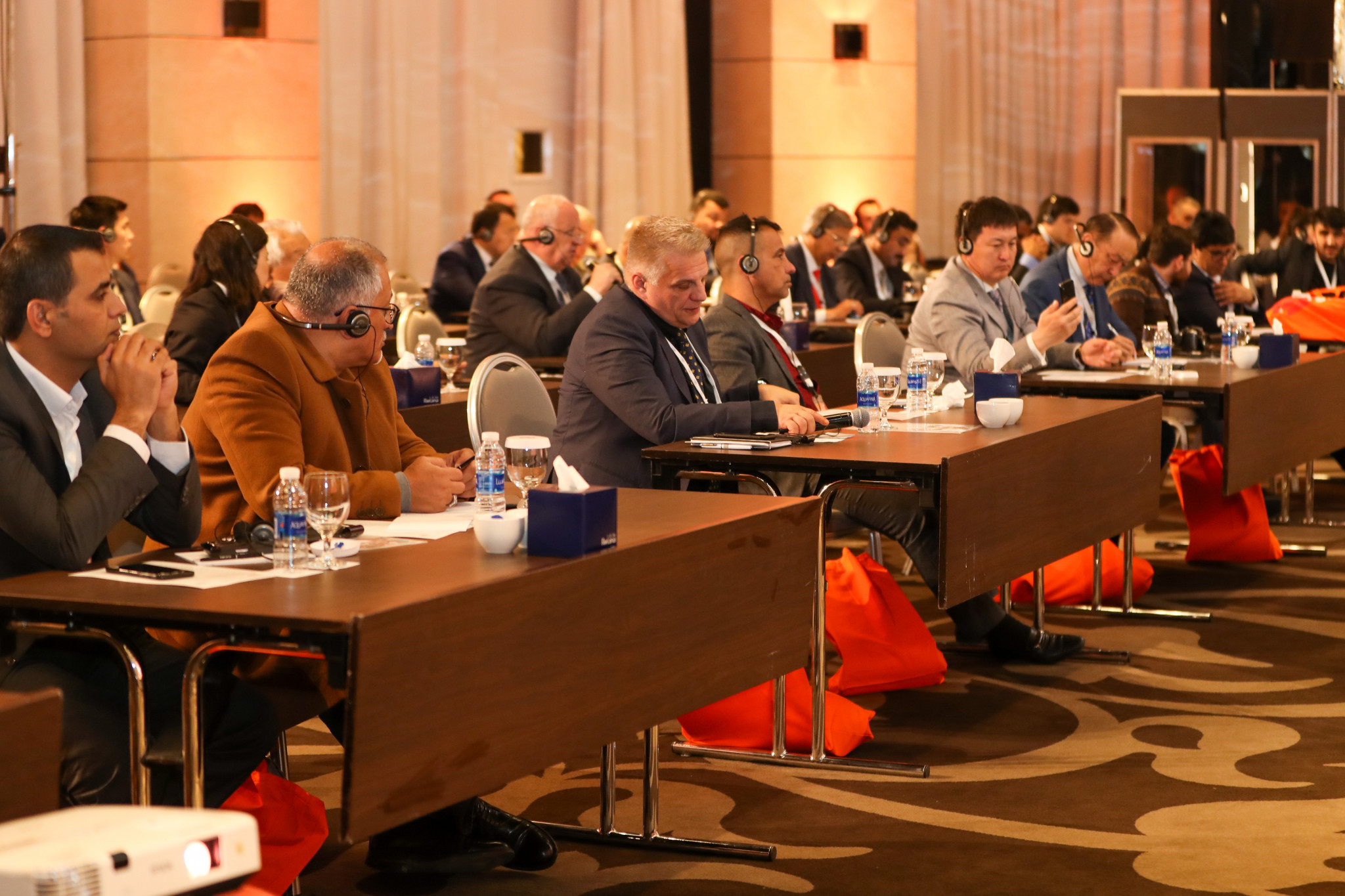 Delegates attended from across Asia ©AIBA