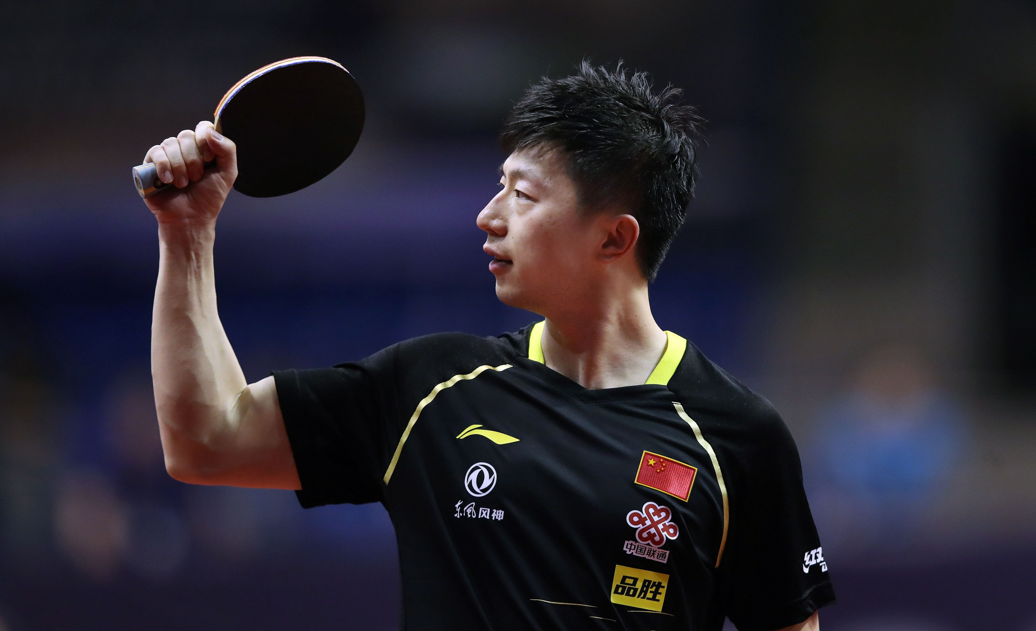Olympic champion Ma Long was dumped out in round two ©Getty Images