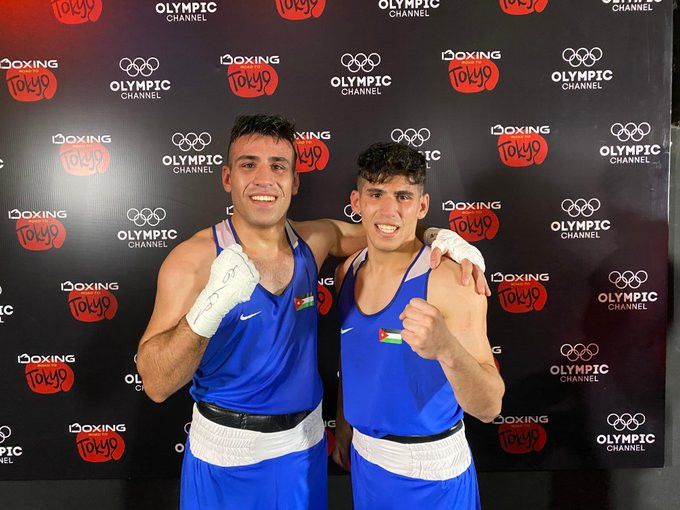 Hussein and Zeyad Ishaish are both one victory away from Tokyo 2020 ©IOC