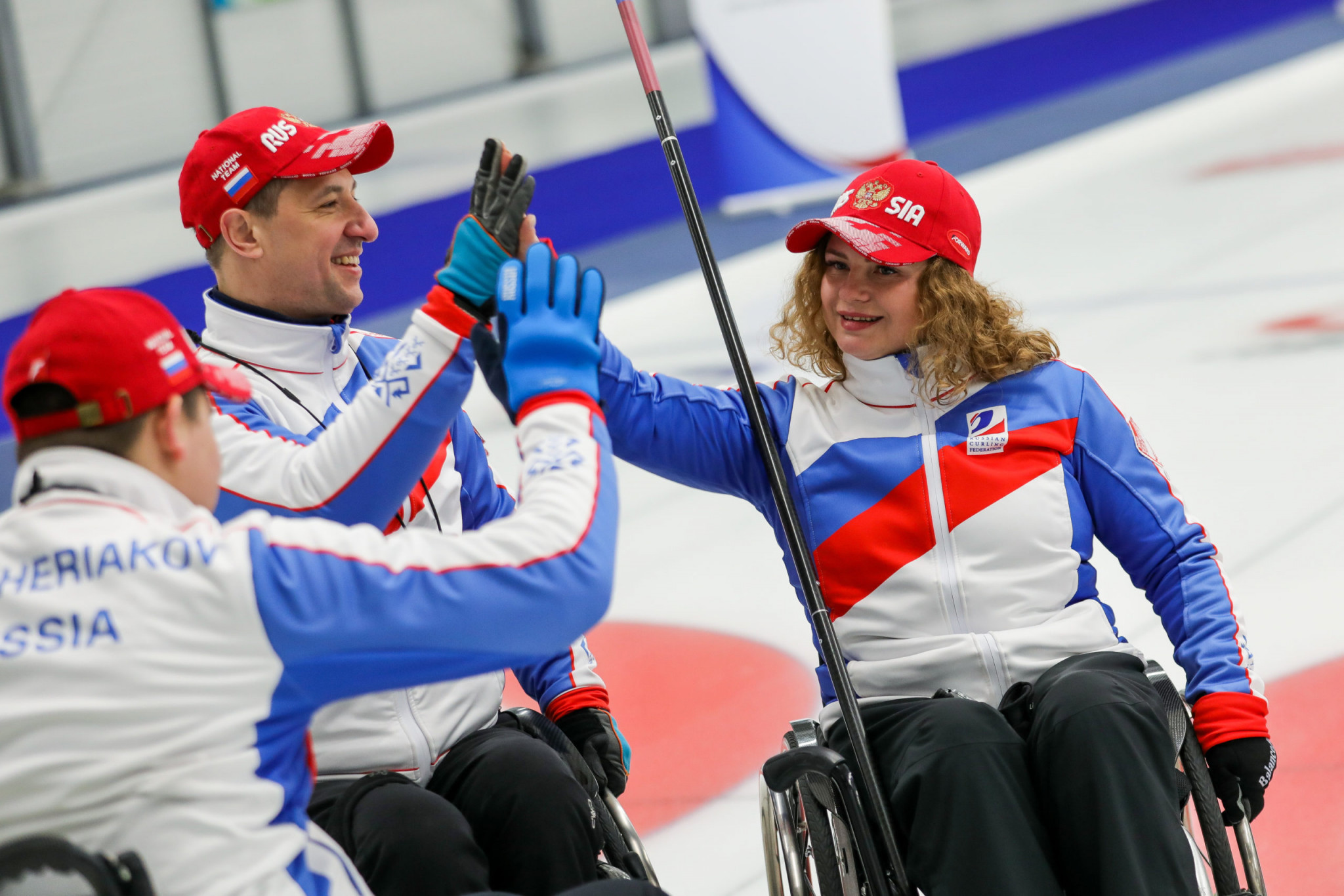 Russia and Canada to go for gold at World Wheelchair Curling Championships