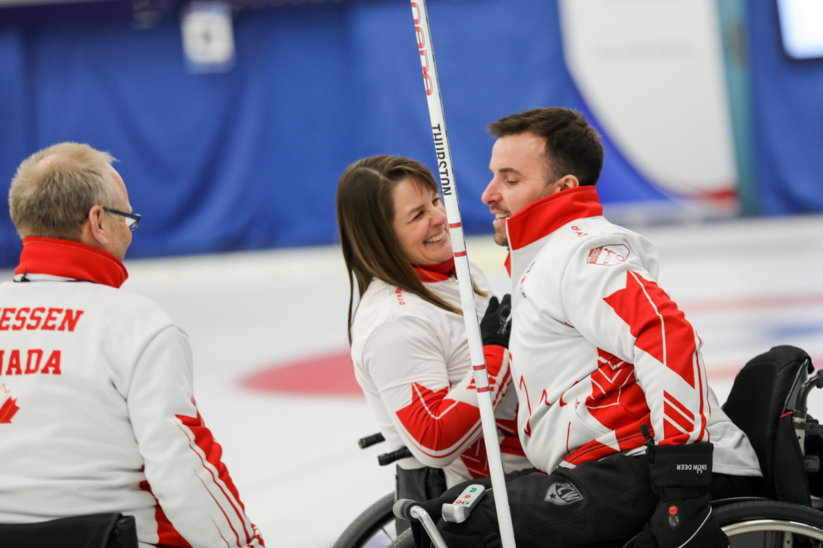 Canada reached the final of the World Wheelchair Curling Championship after one point wins in the qualification round and semi-final ©World Curling