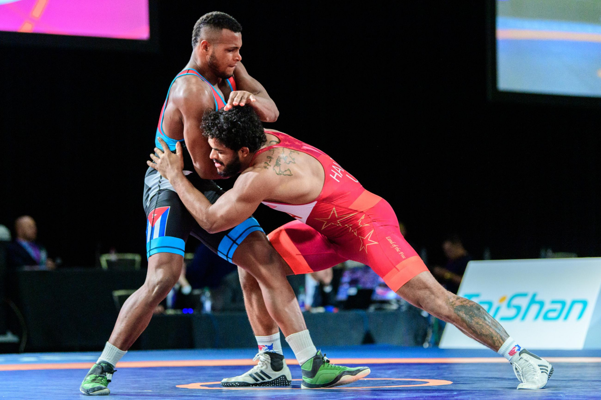 United States win three golds on day one of Pan American Wrestling Championships in Ottawa
