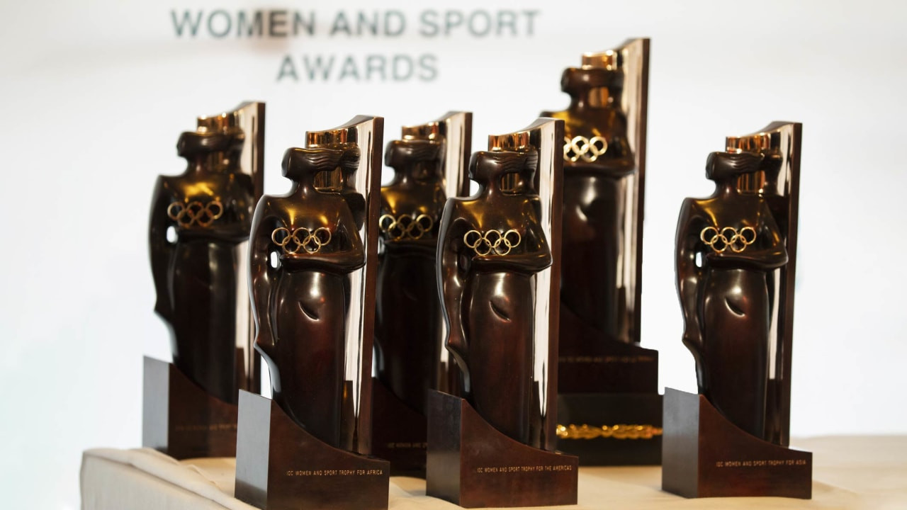 Six Women and Sport Awards winner have been announced ©IOC