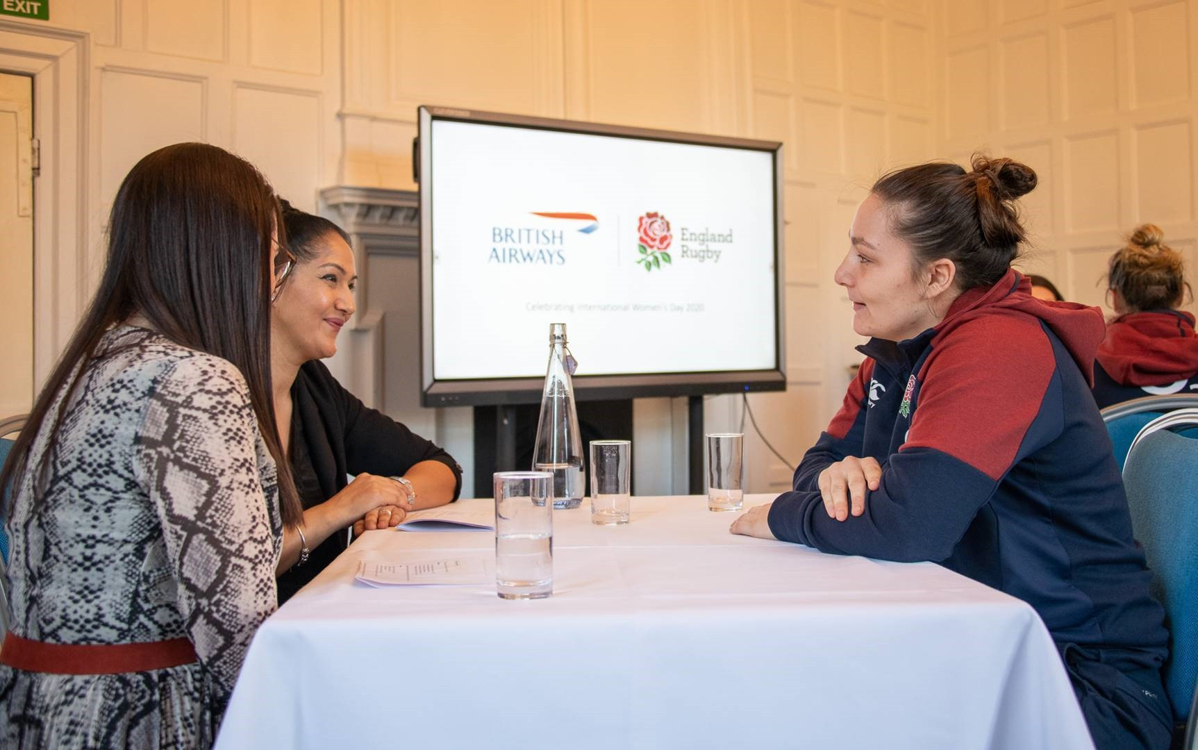 England Rugby celebrate International Women's Day with British Airways