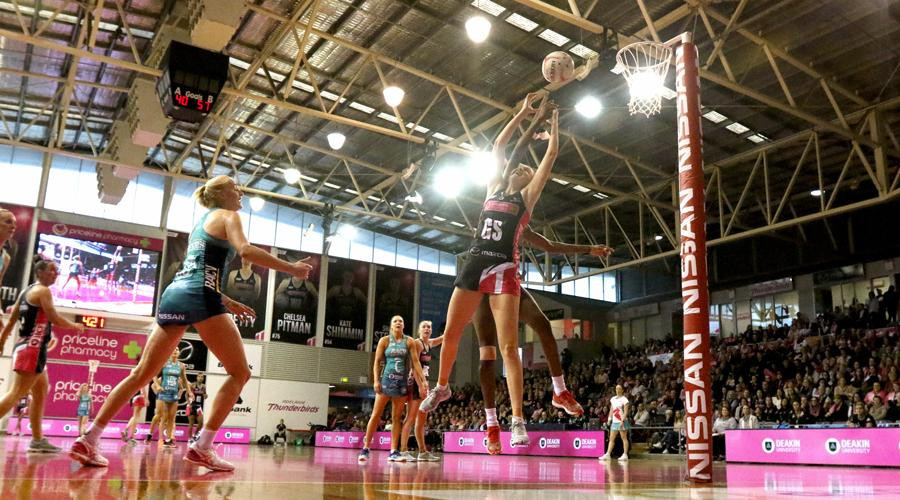 Adelaide Thunderbirds have been fined AUD100,000 for breaching the salary cap during the 2019 season ©SSN