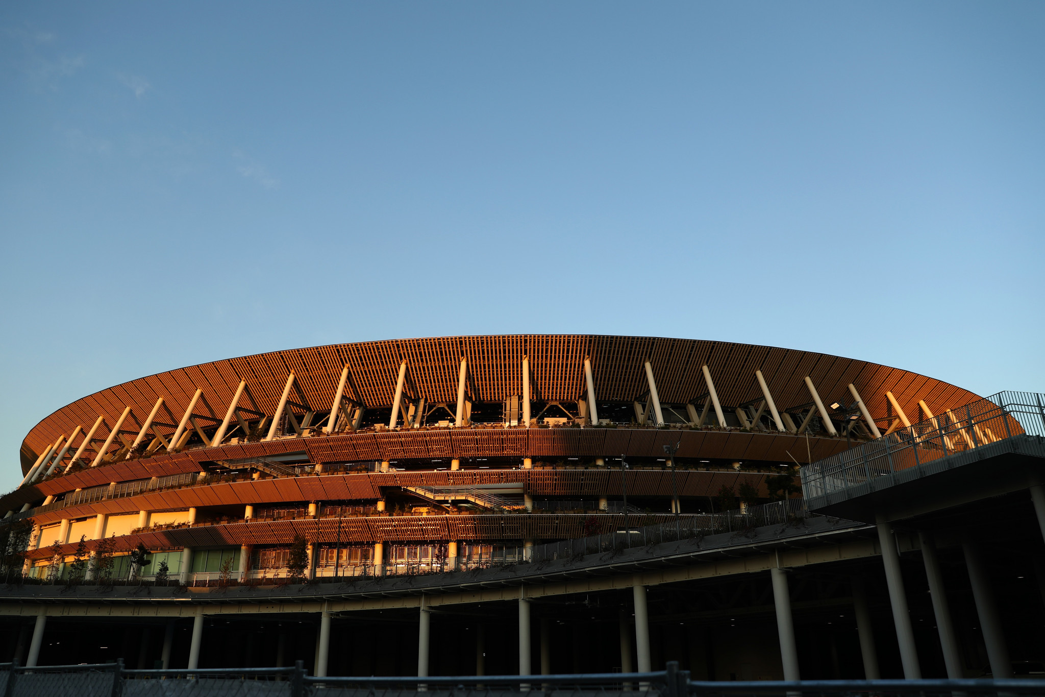 There will be 8K coverage provided from the Tokyo 2020 Opening and Closing Ceremonies, due to take place at Japan's New National Stadium ©Getty Images